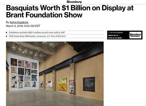 NEW Jean-Michel Basquiat Brant Foundation Exhibit Poster 2019 OG NYC Art RARE
